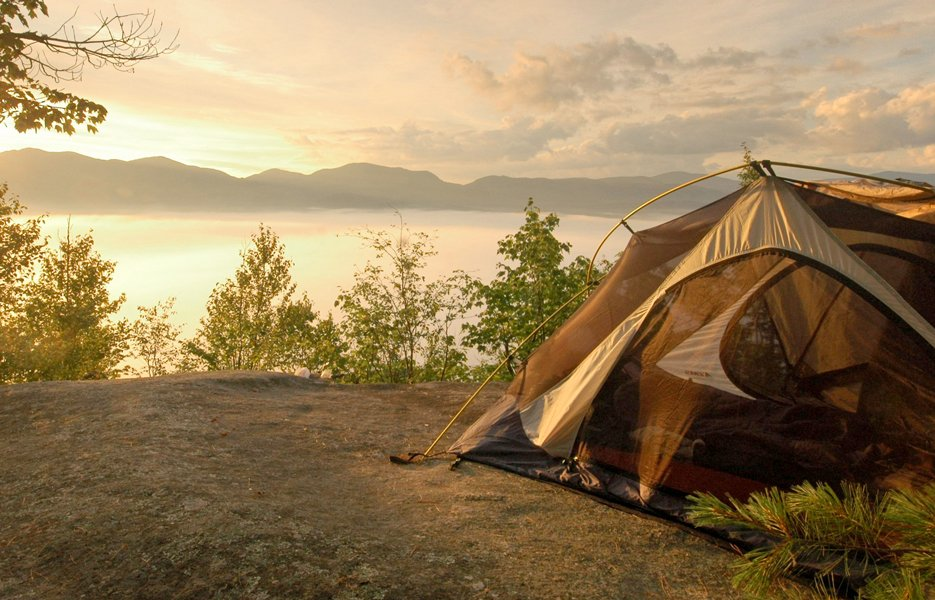 Camp Your Way to Better Sleep